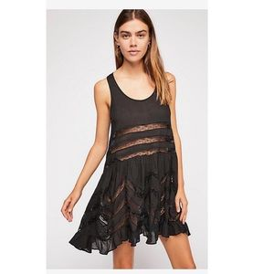 Free People Voile & Trapeze Slip Dress.